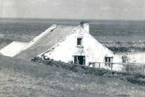 Skokholm – The Cottage, viewed from 'The Knoll'...