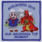 Mountain Top Moment Adelboden 2010 badge