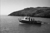 Skokholm – The 'Dale Princess' leaving. Jack...