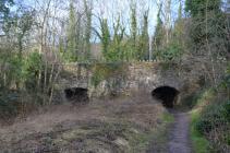 twin tramway tunnels