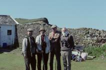 Donovan, Ronald Lockley, Dillwyn Miles (?) and...