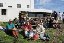 Skokholm - Islands Management Committee members...