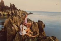 Skokholm  Liz Gynn and Sarah Brown 1984