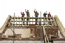 Skokholm cottage re roofing