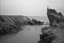 Skokholm - The Neck from Gut Point - April 1982