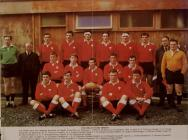 The Welsh rugby union team, 1970