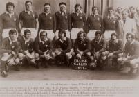 The Welsh rugby union team, 1971