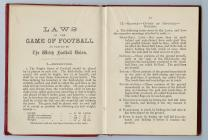 Hanbook of the Welsh Football Union