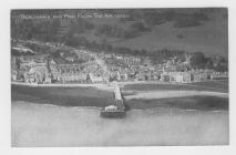 (Post Card) Beaumaris And Pier From The Air