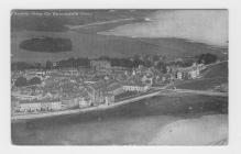 (Postcard) Ariel View of Beaumaris