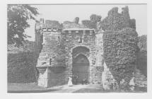 (Post Card) Beaumaris Castle