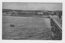 (Postcard) Beaumaris from the Pier