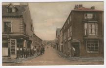 (Postcard) Beaumaris, Church Steet