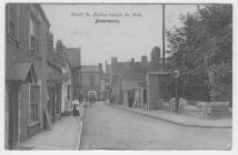 (Postcard) Church St, looking toward the Arch,...