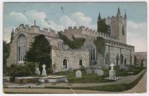 (Postcard) Beaumaris Church