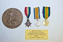 Great war medals Pte John Campbell