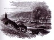 The Taff Vale Ironworks in 1861