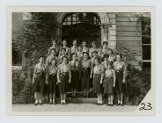 Girlguiding Patrol Leaders training at...