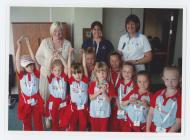1st Bedwas Rainbows at the Welsh Assembly...
