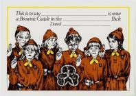 Brownie Guide Pack Certificate