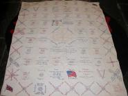 Canadian quilted bed cover