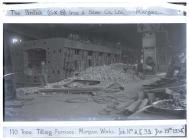 110 tons tilting furnace, Margam Works. January...