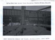 Ingot preheating furnace Port Talbot. April 20,...