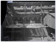 Building work at Port Talbot steelworks c1930