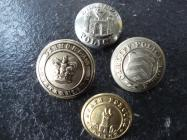 Victorian era Police uniform buttons