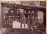 C Humphreys and son Ironmongers in Llafair...
