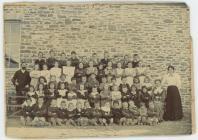 Llangeitho School 1886