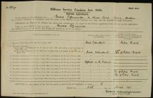 Military Service Pensions Act 1934, Gerald...