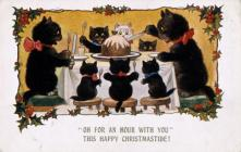 Christmas Card Early Twentieth Century