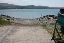 Frongoch, Aberdovey - view of slipway
