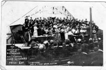 Cor Ffestiniog, Ennillwyr Eisteddfod Sir Fon 1911