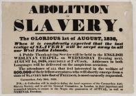 Abolition of Slavery The Glorious 1st of August...