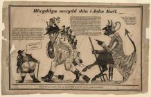 Blwyddyn newydd da i John Bull. Satire c.1800...