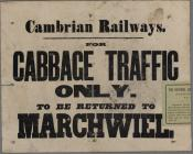 Cambrian Railways for Cabbage Traffic c.1860