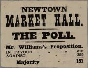 Newtown Market Hall The Poll 1871