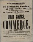 Pembrokeshire.To Be Sold By Auction Jan. 14 1842