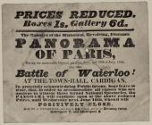 Prices Reduced Panorama of Paris 1834