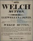 Real Welch Mutton c.1860
