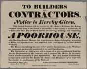 To Builders and Contractors 1829