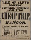 Vale of Clwyd Railway Cheap Trip to Bangor 1859