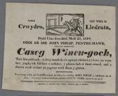 Wedi Crywdro  1818