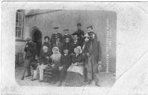 Rhys Lewis, Aberffraw Drama Company 1911