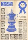 Newspaper supplement, FA Cup v. Nuneaton...