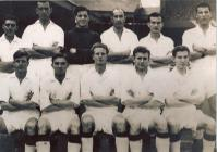 Photograph of team, mid-1950s
