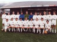 Photograph of team, early 1970s