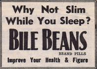Bile Beans - 1940